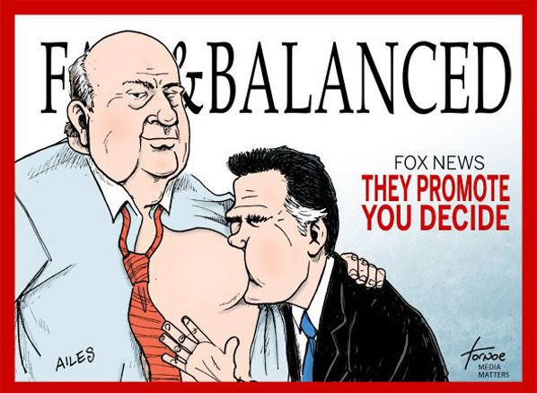 MEDIA FOX Ailes & Romney - They Promote You Decide