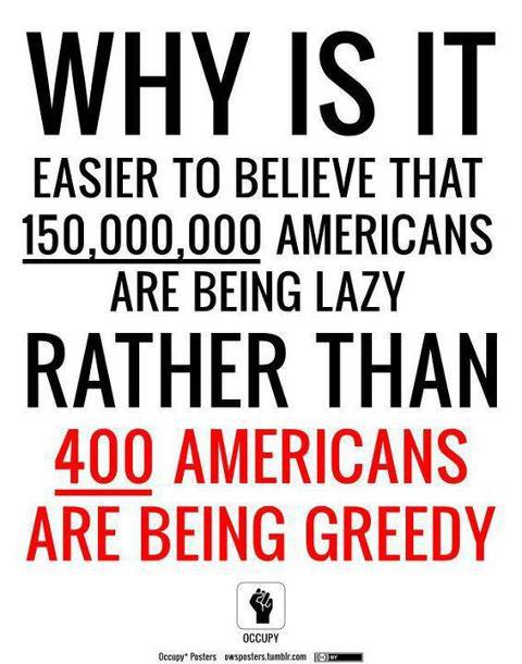OLIGARCHS Easier To Believe 150M Are LAZY Than 400 Are GREEDY