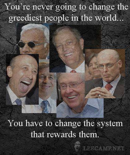 OLIGARCHS GREEDIEST PEOPLE IN THE WORLD