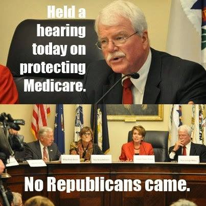 101_ SSN MEDICARE - A Congressional Hearing on Protecting Medicare - No Republican Came