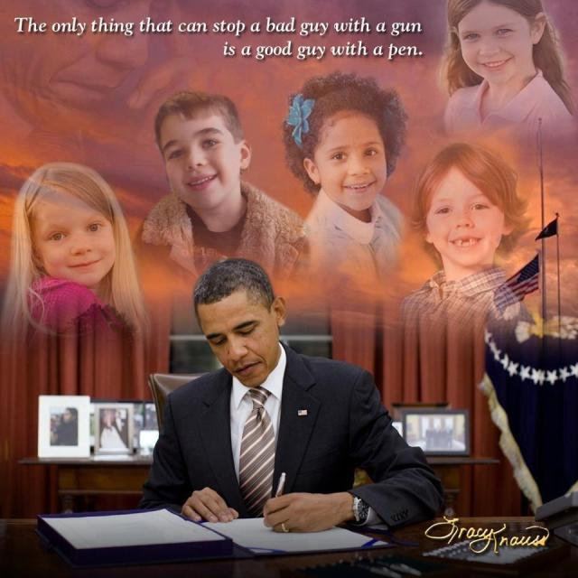 CORP WOLF PAC NRA GUN OBAMA Signs Executive Order