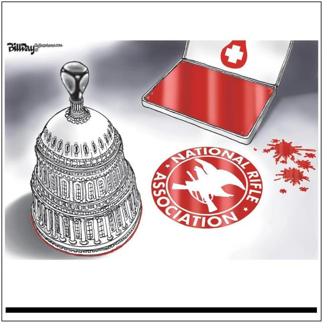 CORP WOLF PAC NRA GUN - Rubber-Stamp Capitol - by Bill Day - at Big Slice Blog 2