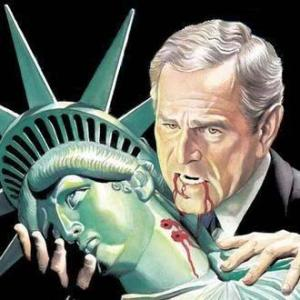 POTUS 43 BUSH Liberty Vampire