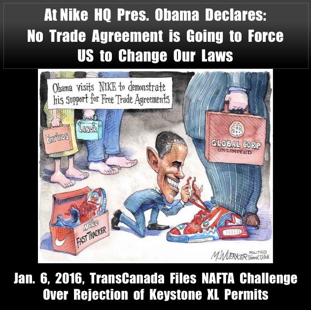POTUS 44 TPP TRADE NAFTA