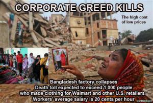 CORP WOLF PAC WALMART Bangladesh Factory Collapse