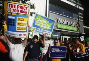CORP WOLF PAC WALMART - Protest the High Price of Low Wages