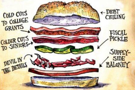 GOP TEA SATAN Sandwich