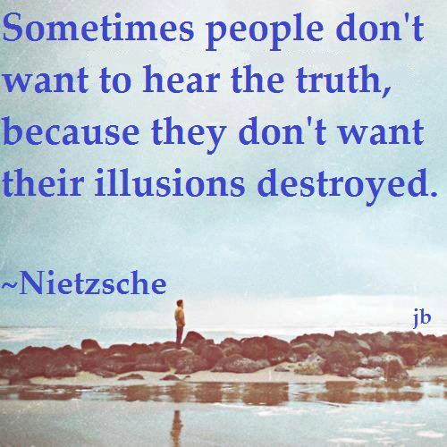 PF NIETZSCHE Sayings Illusions Destroyed