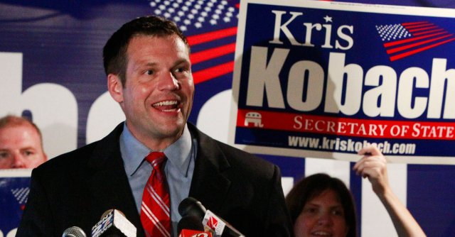 st-kansas-kris-kobach-secretary-of-state-trump-immigration-policy-cross-check-fellon-prisoner-voter-suppression