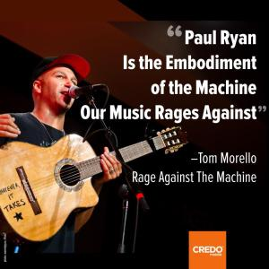 ST WI PAUL RYAN - Tom Morello Rages Against P Rayn