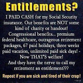 103SR_ CONSERVATIVE ENTITLEMENTS SS vs Congressional Benefits
