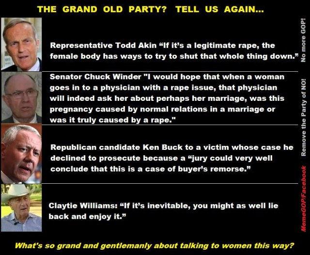 105SSR_ WOMEN'S RIGHTS - Todd Akin, Chuck Winder, Ken Buck, Claytie Williams