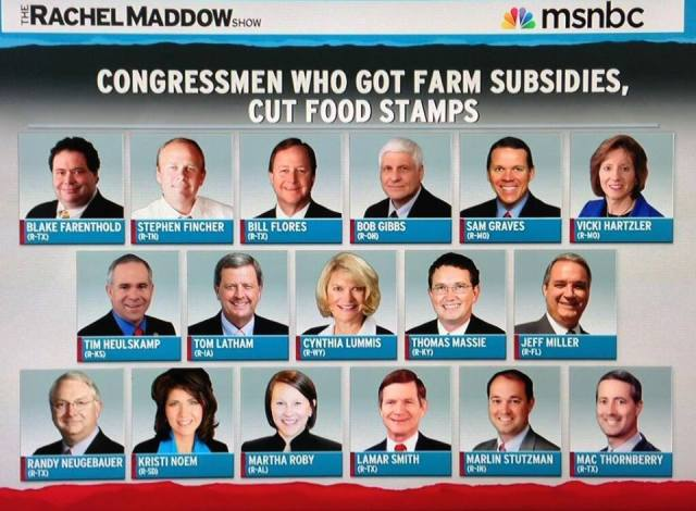 114SSR_ BLOCK SOCIAL SAFETY NET - SNAP FOOD ASSIST - TIED TO - 17 FARM REPUBLICANS REDUCED SNAP WHIL RECIEVING AG BIZ FARM SUBSIDIES - 200 Other R'd Joined in SNAP Cuts