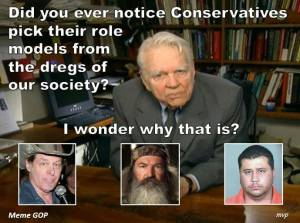 116SR_ ANDY ROONEY w Ted Nugent, Duck Dynasty, and George Zimmerman - Did you ever notice how conservatives pick their role models from the Dregs of Society-Q