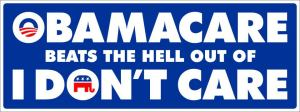 SNN OBAMA CARE Beats The Hell Out Of I Don't Care