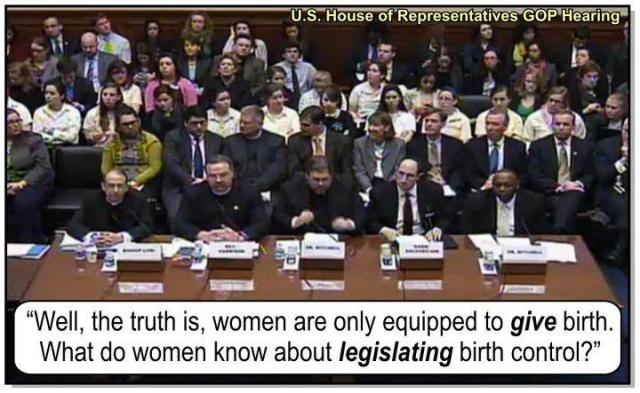 WOMENS RIGHTS GOP BIRTH CONTROL Hearings ST CA DARYLL ISSA