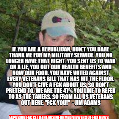 101_ GOP BC VETERANS Fuck U Republicans