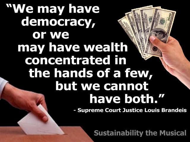 1_ SC JUDGE BRANDEWIE - We can have a Democracy or