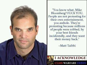 PF MATT TAIBBI Bloomberg saying on his buddies