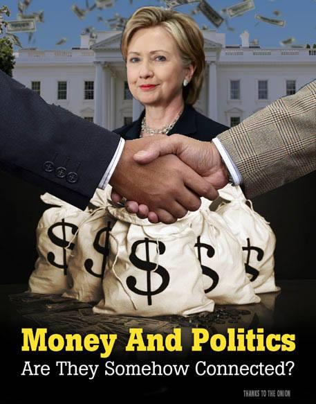ST NY HILLARY CLINTON Money In Politics
