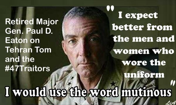 101_ GOP BC - 47Senators - I expect better of the men and women who wore the uniform. - Mutinous