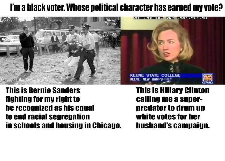 119 Blacklivesmatter To Berniesanders Clinton2016