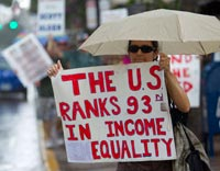 CLASS WARFARE - The U.S Ranks 93rd In INCOME EQUALITY