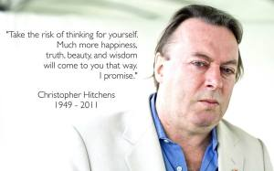 PF CHRISTOPHER HITCHENS Peace When You Think For Yourself