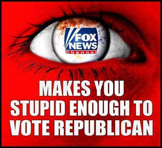 POLITICAL MEDIA Fox News Makes You Stupid Enough To Vote Republican