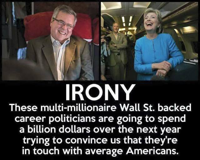 ST NY HILLARY CLINTON and Jeb Bush