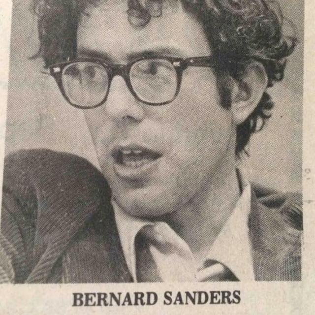 0003_ ST VT BERNIE SANDERS BERNARD SANDERS Pic in his 20's