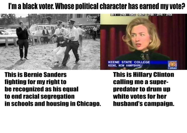 0003N_ BLACK LIVES MATTER - CIVIL RIGHTS ACT - GOLDWATER - ST NY HILLARY CLINTON RACE