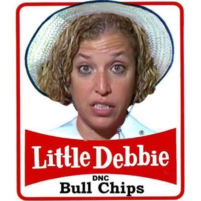 0004D_ ST FL DEBBIE WASSERMAN-SCHULTZ Little Debbie DNC BULL CHIPS