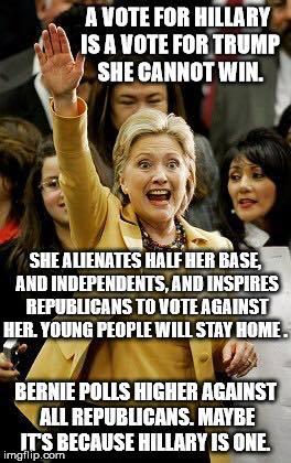 0004M_ ELECTABILITY - ST NY HILLARY CLINTON will lose to Donald Trump