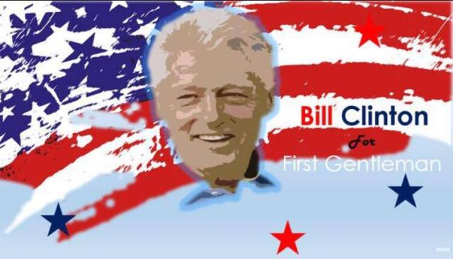 0005E_ ST NY HILLARY - BILL CLINTON For FIRST GENTLEMAN