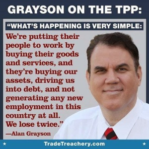 UNION LABOR TPP - Alan Grayson