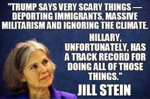 000_ GREEN PARTY JILL STEIN against