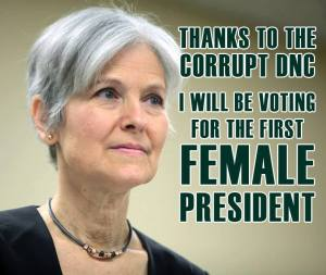 000_ GREEN PARTY JILL STEIN First Woman President