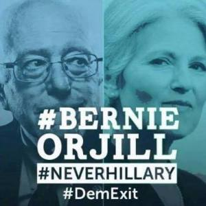 GREEN PARTY Bernie Or Jill