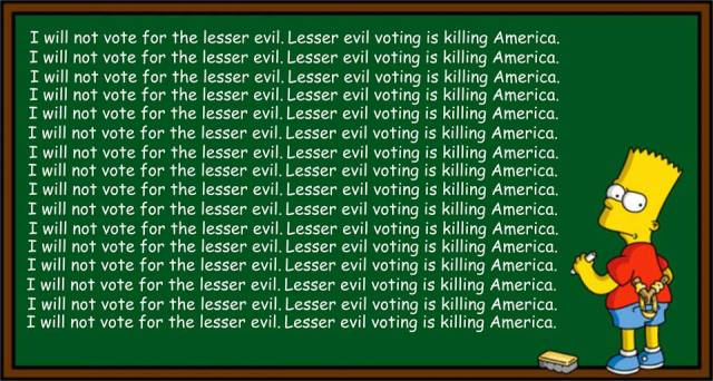 GREEN PARTY Jill Stein Lesser Evil Voting